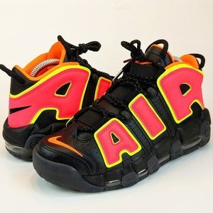 NEW Nike Air More Uptempo Hot Punch Volt Pippen